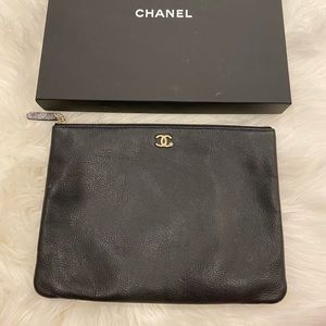 Chanel envelope clutch